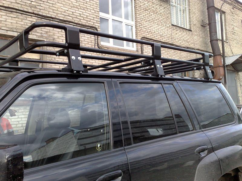 Алюминиевый багажник Nissan Patrol люкс