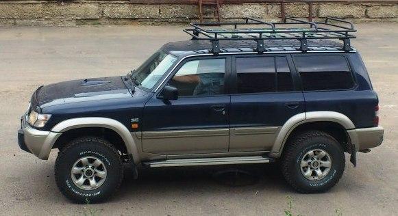 Алюминиевый багажник Nissan Patrol эксклюзив
