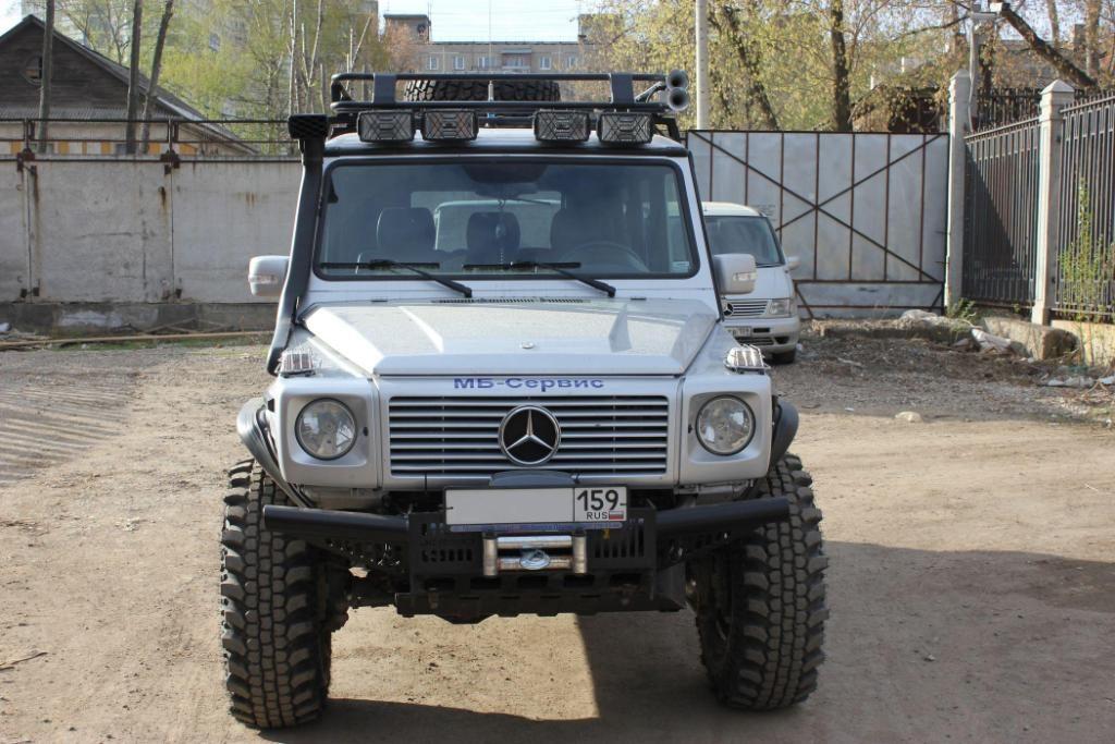 Алюминиевый багажник Mercedes-Benz G-Class