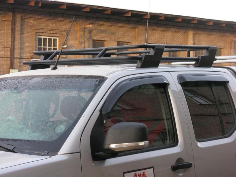 Алюминиевый багажник Nissan Navara
