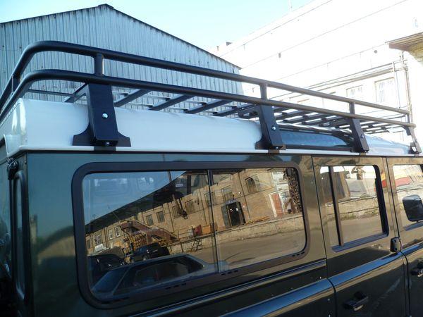 Алюминиевый силовой багажник Land Rover Defender 110