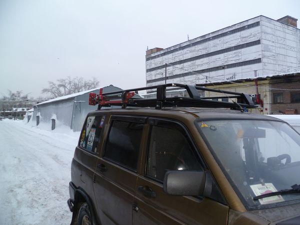 Алюминиевый багажник УАЗ Patriot Патриот