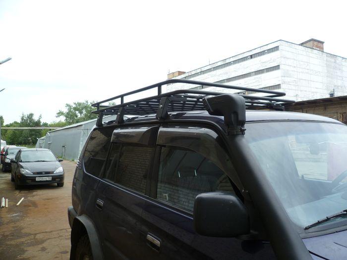 Алюминиевый багажник Toyota Land Cruiser 90