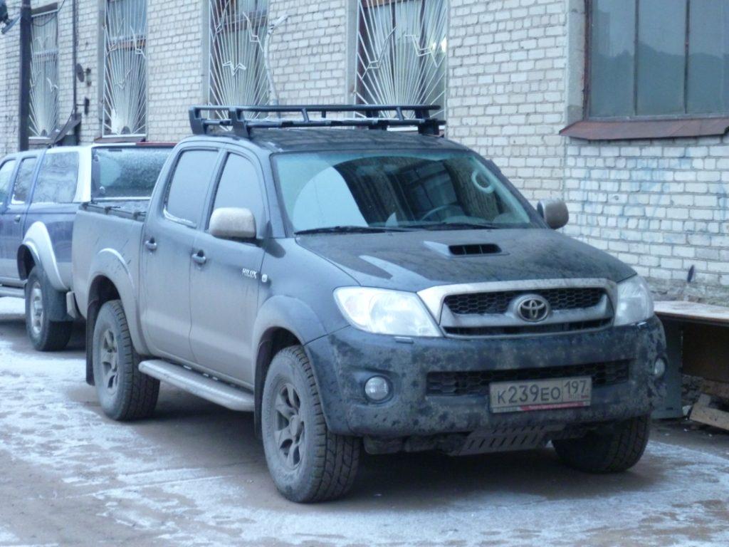 Алюминиевый экспедиционный багажник  на Toyota Hilux Хайлюкс