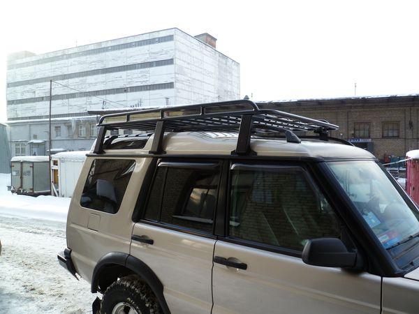 Алюминиевый силовой багажник Land Rover Discovery II Эконом