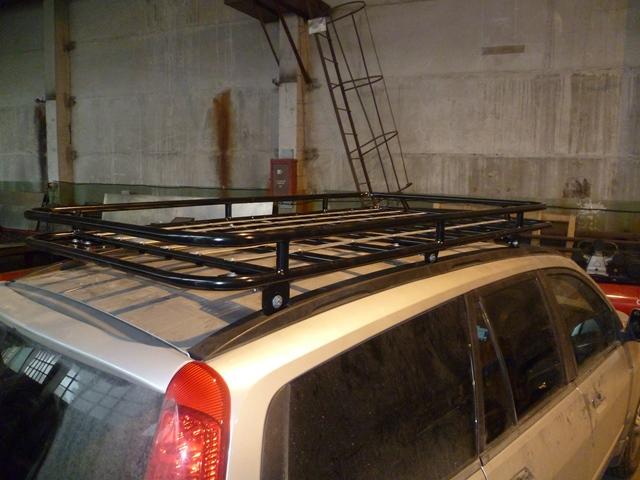 Багажник алюминевый Great Wall Hover 5