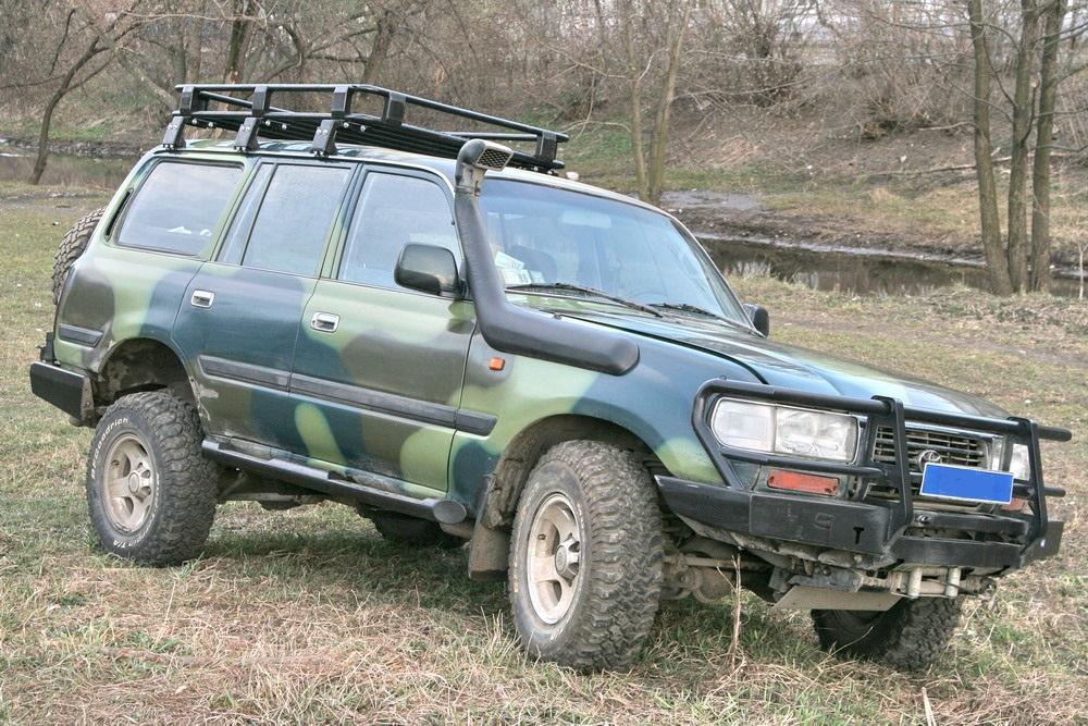 Передний силовой бампер со съемным кенгурином - Toyota Land Cruiser 80