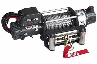 Лебёдка электрическая двухскоростная 12V Runva 12000 lbs 5700 кг