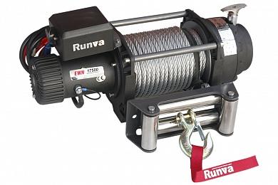 Лебёдка электрическая (индустр.) 24V Runva 17500 lbs 7960 кг