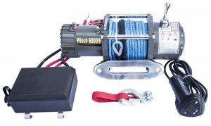Лебедка Electric Winch 6000 lbs/2750kg 12v (3контакта)
