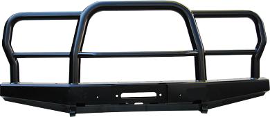Бампер передний УАЗ Хантер универсальный усиленный с трубным кенгурином