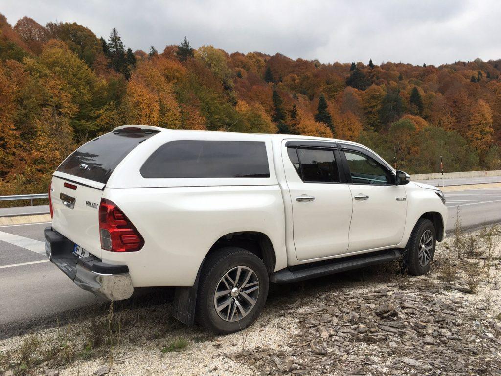 Кунг на Toyota Hilux до и после 2014 г.