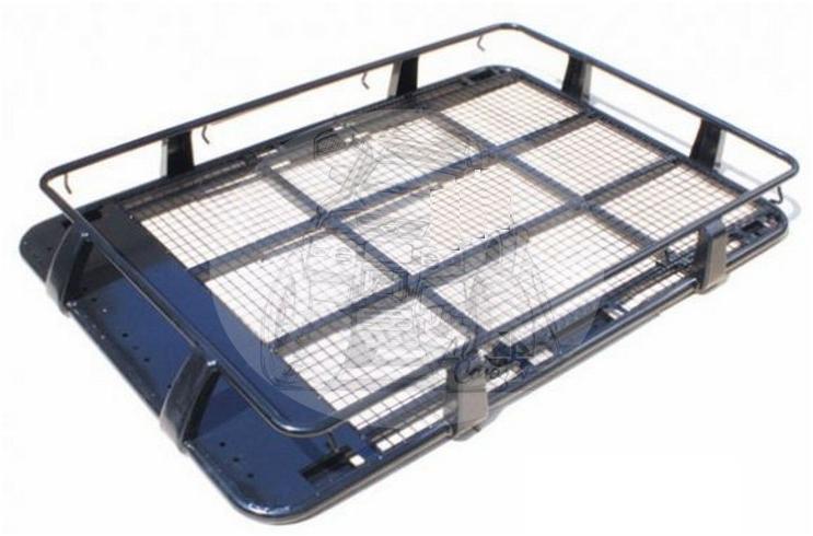 Багажник цельносварной металлический 220x125x19 см