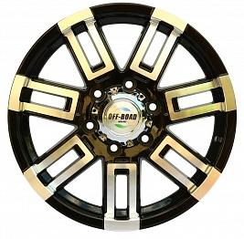 Диск Тойота Ниссан литой черный 6x139,7 8xR17 d110 ET+10