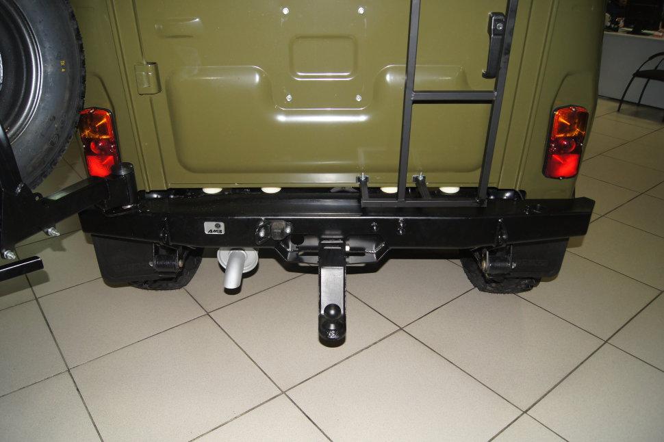 Силовой бампер задний УАЗ Хантер