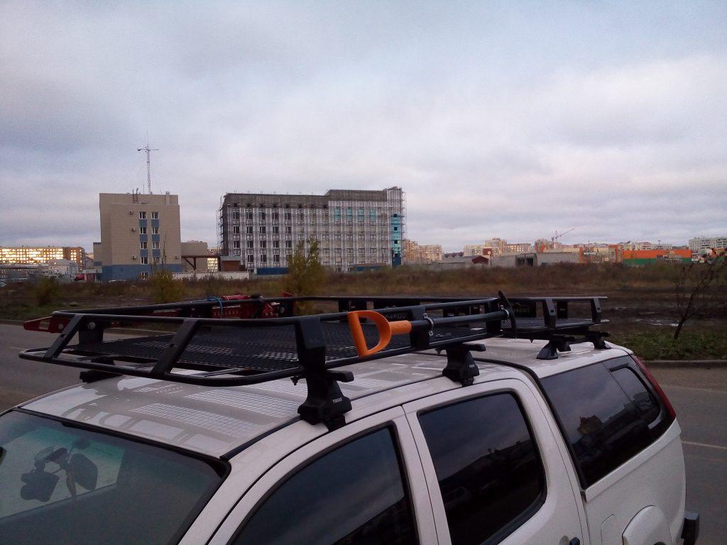 Багажник на пикап с кунгом для Мазда БТ-50.
