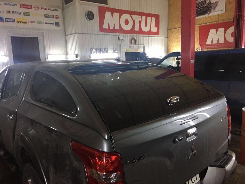 Кунг наVolkswagen Amarok