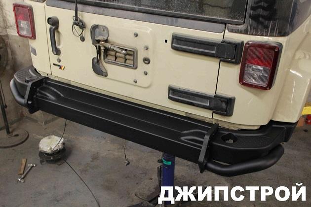 Силовой бампер Jeep JK
