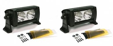 "Фара светодиодная Dual 5"" дальний свет 2 шт. х 2 LED с фильтром"