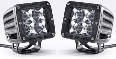 Фара Dually (4 светодиода) Дальний свет, комплект 2 шт.- Белый