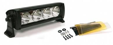 """Фара светодиодная 8"""" противотуманная 4 LED с фильтром"""