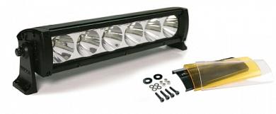 """Фара светодиодная 12"""" 10W противотуманная 6 LED с фильтром"""
