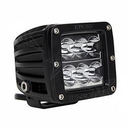 Фары Dually D2 (6 светодиодов) водительский свет белый (к-т 2 шт.)