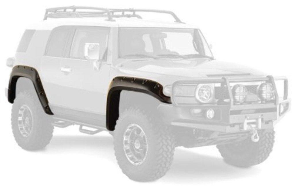 Бушвакеры - расширители арок колёс (фендер) крыла TOYOTA FJ CRUISER (комплект 4шт)