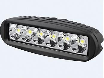 Фара дальнего света 153 мм 18W LED