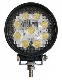 Фара дальнего света 116 мм 27W LED