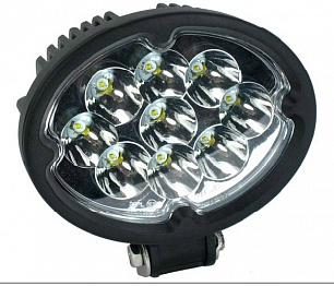 Фара дальнего света 147х152х72 мм 27W LED