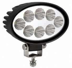 Фара водительского света 142х122х66 мм 24W LED