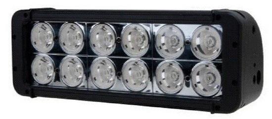 Светодиодная фара (led балка) дальнего света двухрядная LOYO 88120 spot