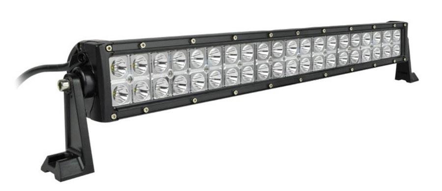 Светодиодная фара-балка LED, двухрядная комбинированного света LOYO LY-120 combo