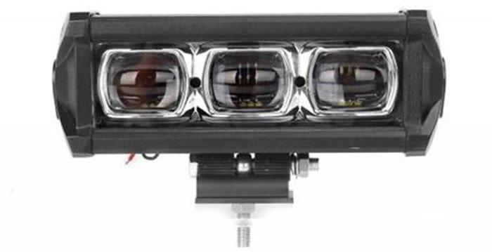 Линзованная 30 Вт светодиодная фара LED балка LOYO 6D-30 ближний свет с четкими границами (не слепит)
