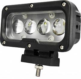 Фара дальнего света 168х68х117 мм 40W LED