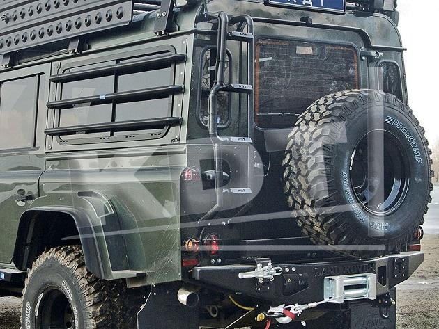 Лестница алюминиевая - Land Rover Defender.