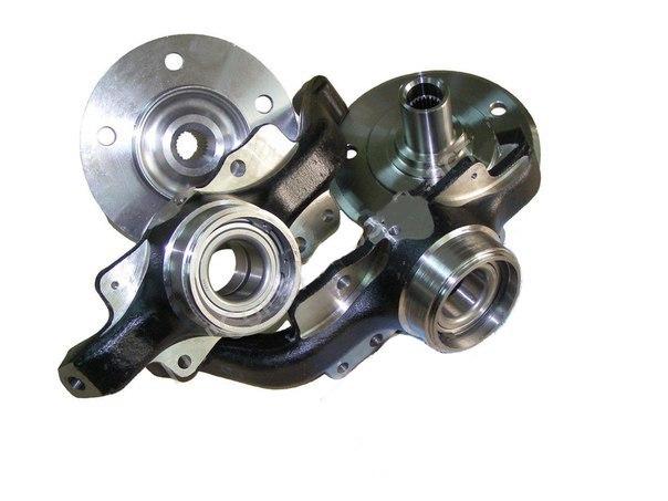 Усиленный ступичный узел (кулаки поворотные 2123 с двухрядным подшипником).