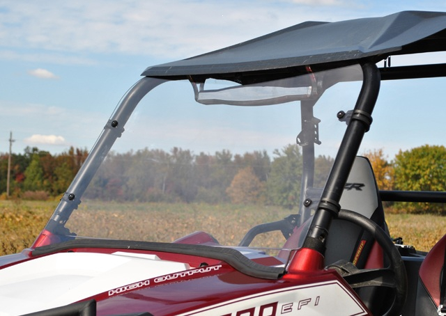 Ветровое стекло квадроцикла Polaris RZR/RZR S/RZR 4/RZR XP 900 2008-2010 SuperATV Full Windshield FWS-RZR