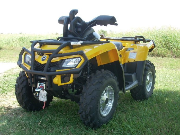 Шноркель квадроцикла BRP/Can-Am Outlander 500/650/800/800R 2006-2011 SnorkelYourAtv OUTY06-11-SK