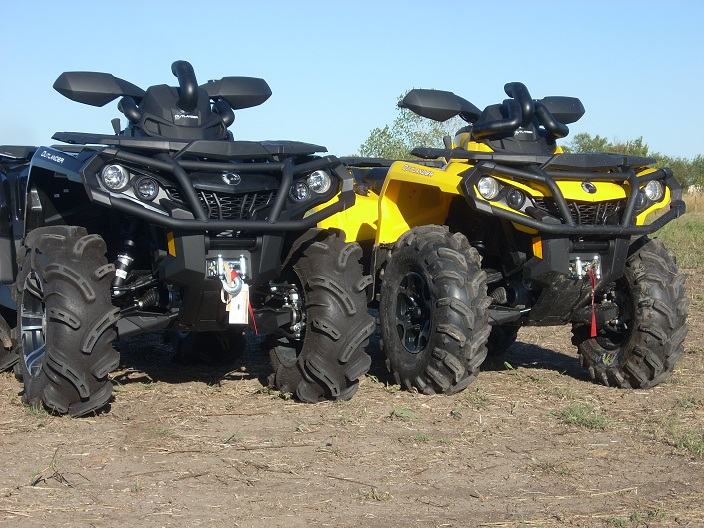 Шноркель квадроцикла BRP/Can-Am Outlander 500/650/800R/1000 2012-2014 SnorkelYourAtv Outy2012-2013