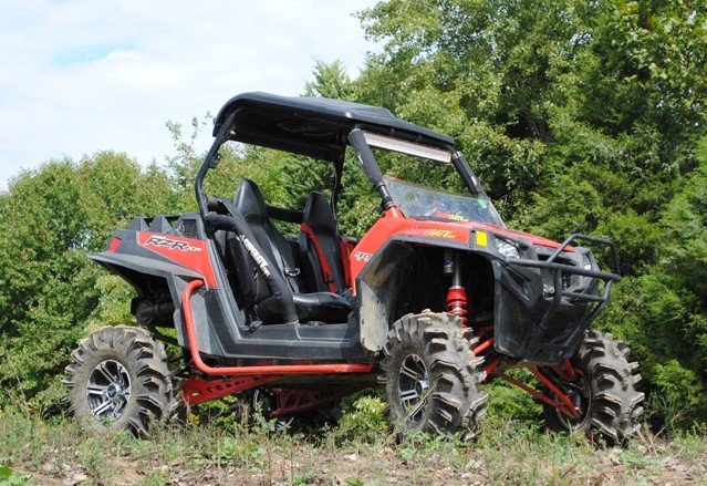 "Лифт кит квадроцикла Polaris RZR XP/XP 4 900 2011-2014/2012-2014 SuperATV 4"" LK-P-RZRXP-4-K"