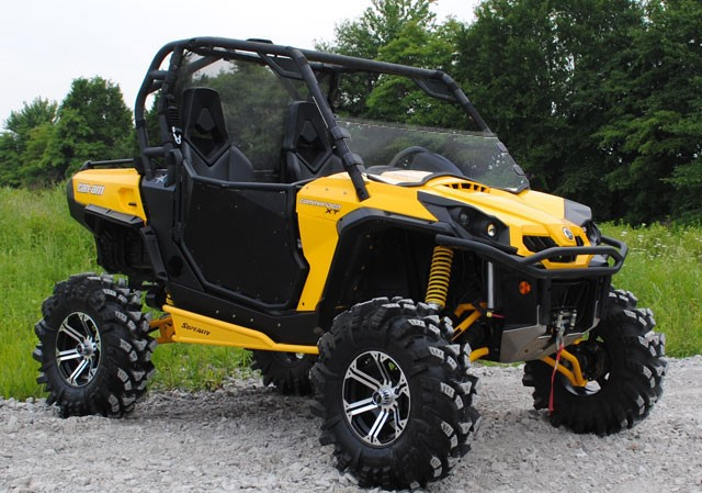 Стекло половинка для BRP/Can-Am Commander 1000/800 SuperAtv HWS-CA-COM