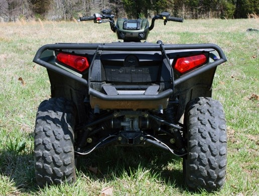 Бампер задний квадроцикла Polaris Sportsman 550/850 SuperATV RB-P-XP