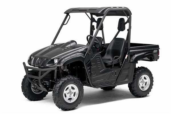 Полная выхлопная система квадроцикла Yamaha Rhino 700 Single M-7 V.A.L.E.™ Slip-on Stainless/Aluminum System Two Brothers 005-2170406V