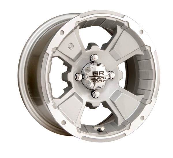 Диск для квадроцикла CARLISLE Black-Rock Intruder 4/137 5+2 12x7 Machined 110S273643
