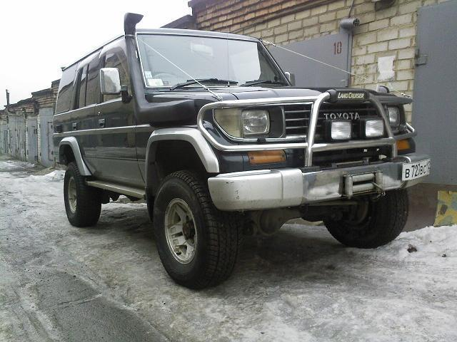 Фендера Toyota Land Cruiser Prado 78