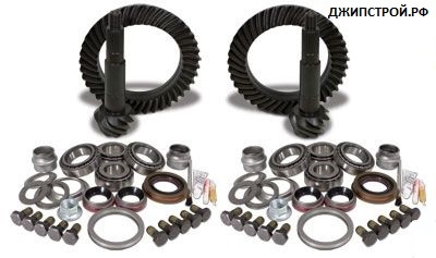 Комплекты главных пар JEEP WRANGLER JK 2007-н.в. - Yukon Gear & Install Kit package for Jeep JK Rubicon, 4.11 ratio