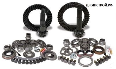Комплекты главных пар JEEP WRANGLER JK 2007-н.в. - Yukon Gear & Install Kit package for Jeep JK non-Rubicon, 4.11 ratio